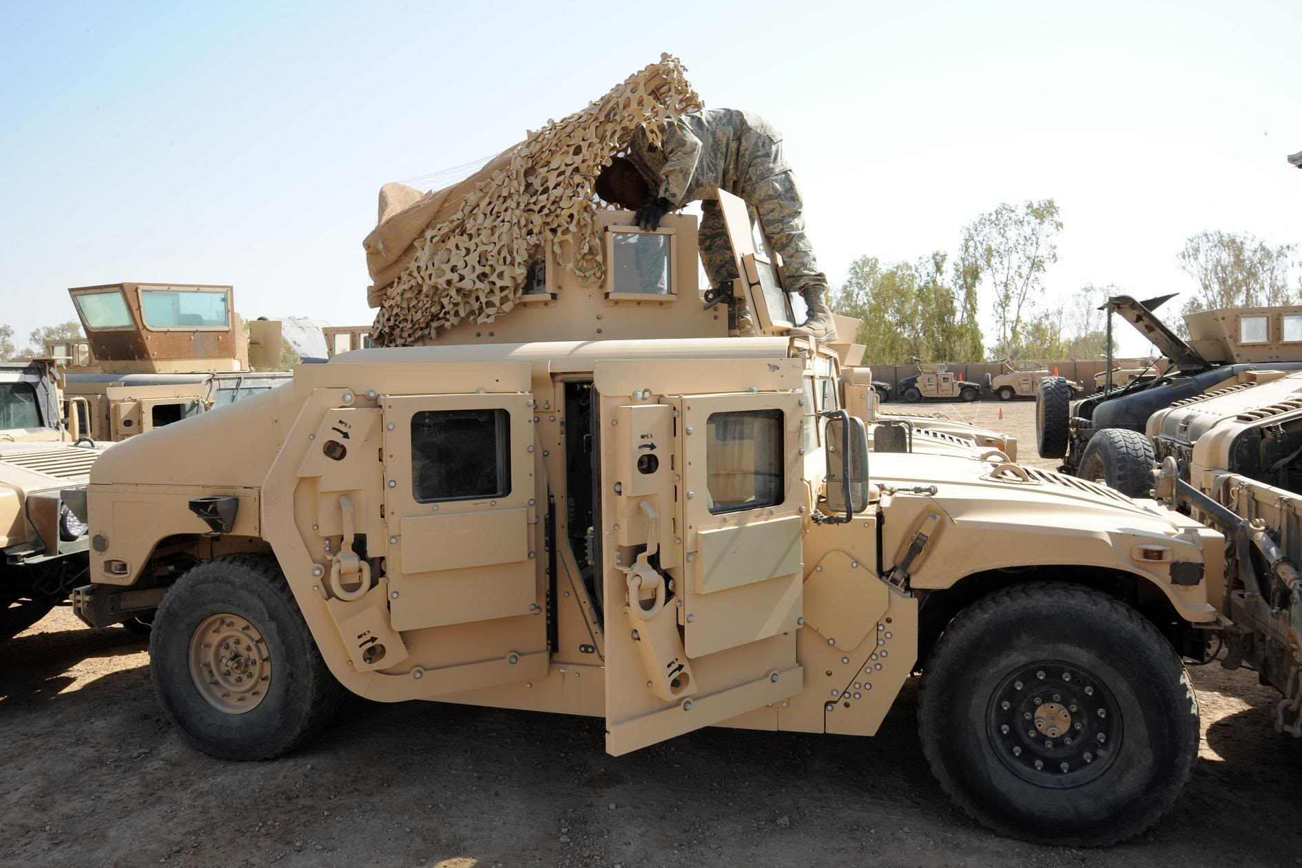 The Humvee s widespread use in  M1114 Hmmwv