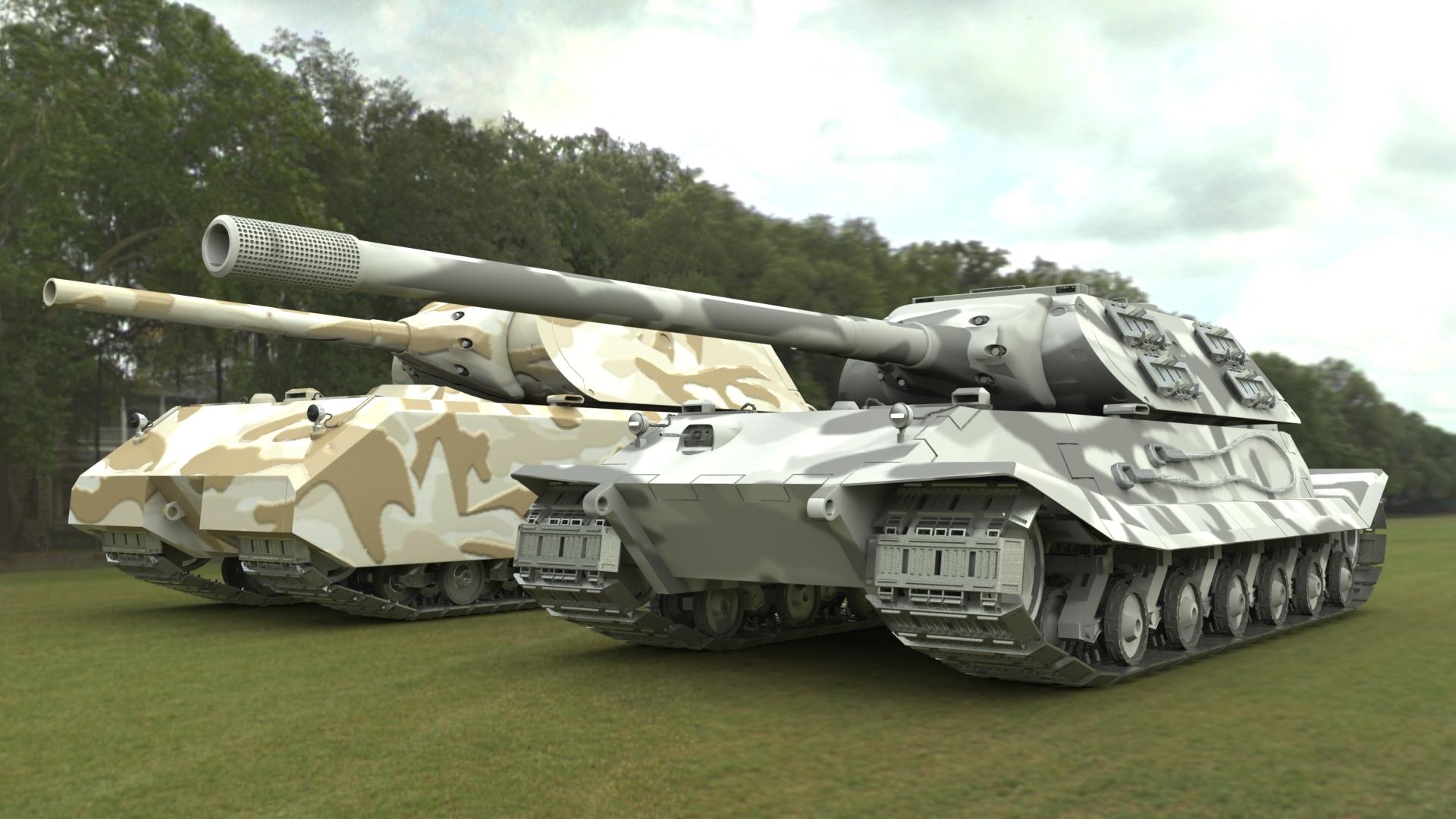 maus 2 tank